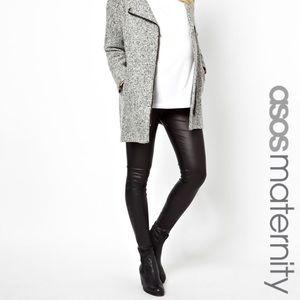 3064901d070ae ASOS Maternity Pants - ASOS Maternity Leather Look Legging - US 6